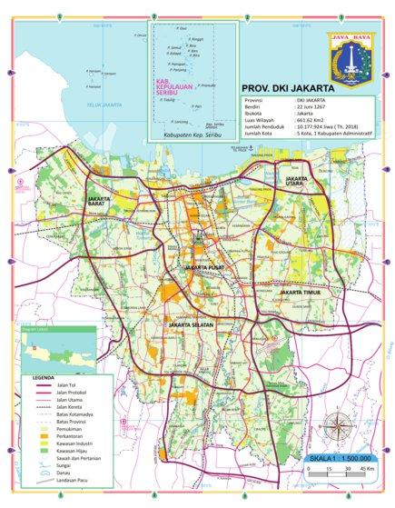 DKI JAKARTA - Georof Map Services - Avenza Maps