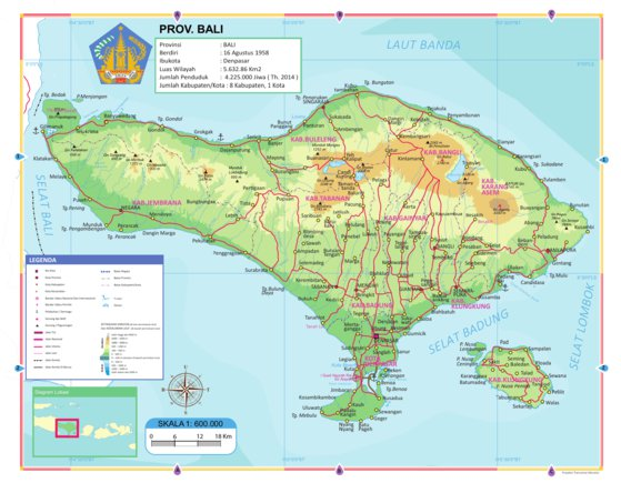 Bali - Georof Map Services - Avenza Maps
