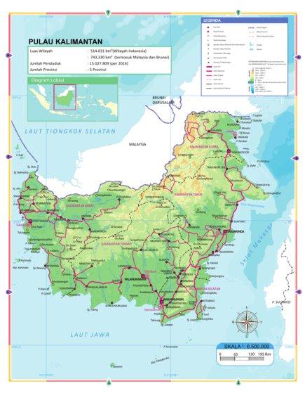 kalimantan georof map services avenza maps kalimantan