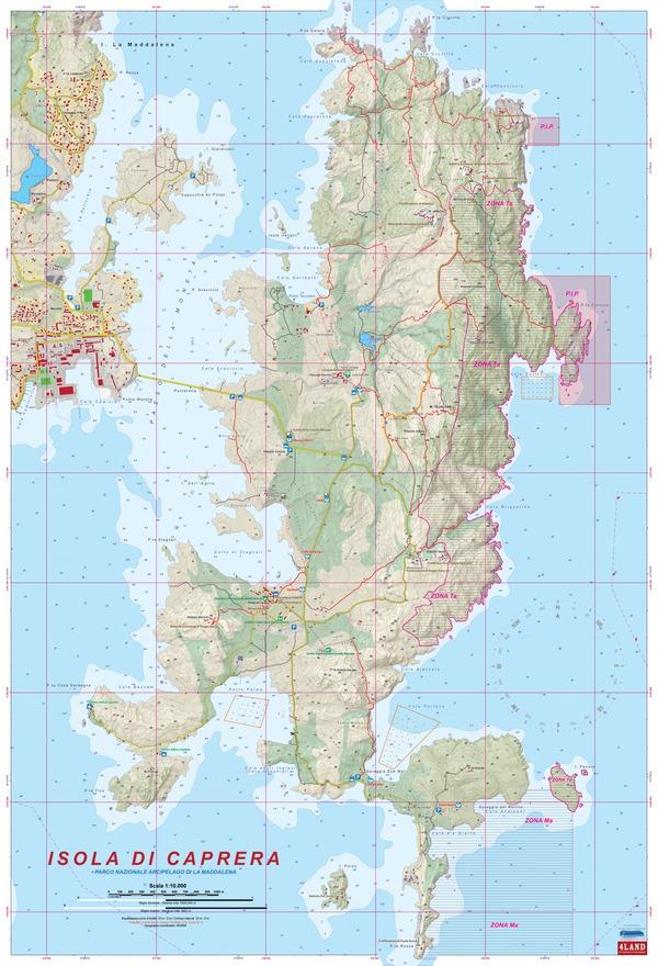 4LAND 161 Isola di Caprera - Parco Nazionale Arcipelago di La Maddalena