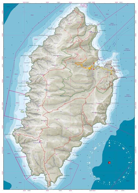 4LAND 2012 Capraia 4LAND Avenza Maps