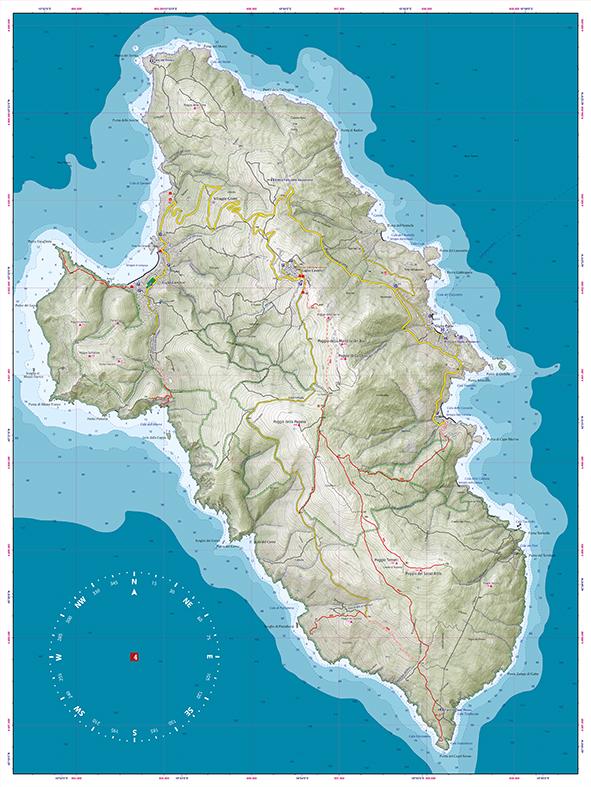 Parco Nazionale Arcipelago Toscano Official Maps