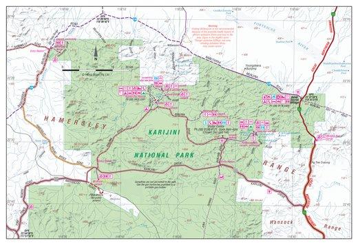 Karijini National Park Map Hema   Karijini National Park   Hema Maps   Avenza Maps