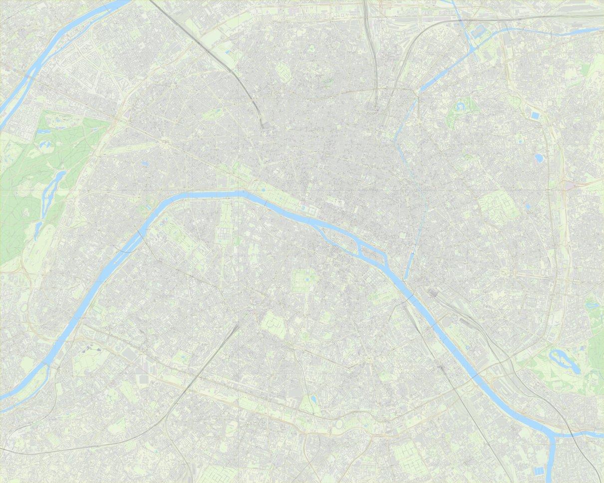 Paris Tourist Street Map - Paul Johnson - Offline Maps - Avenza Maps