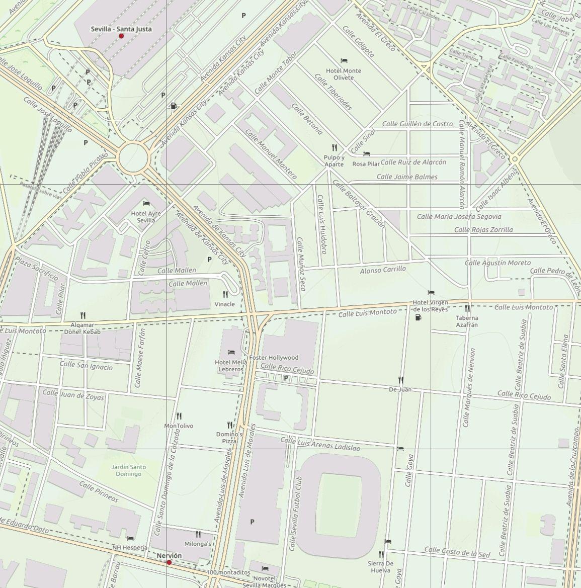 Sevilla Tourist Street Map - Paul Johnson - Offline Maps - Avenza Maps