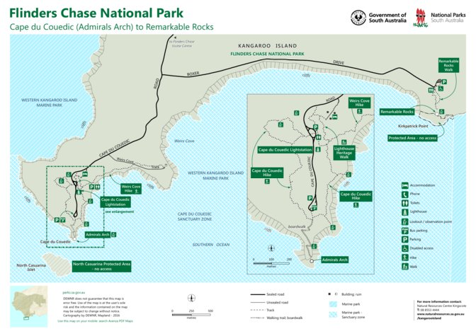 Flinders Chase National Park - Cape du Couedic - Department ... on