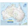 Australia Wall Map 3rd Edition