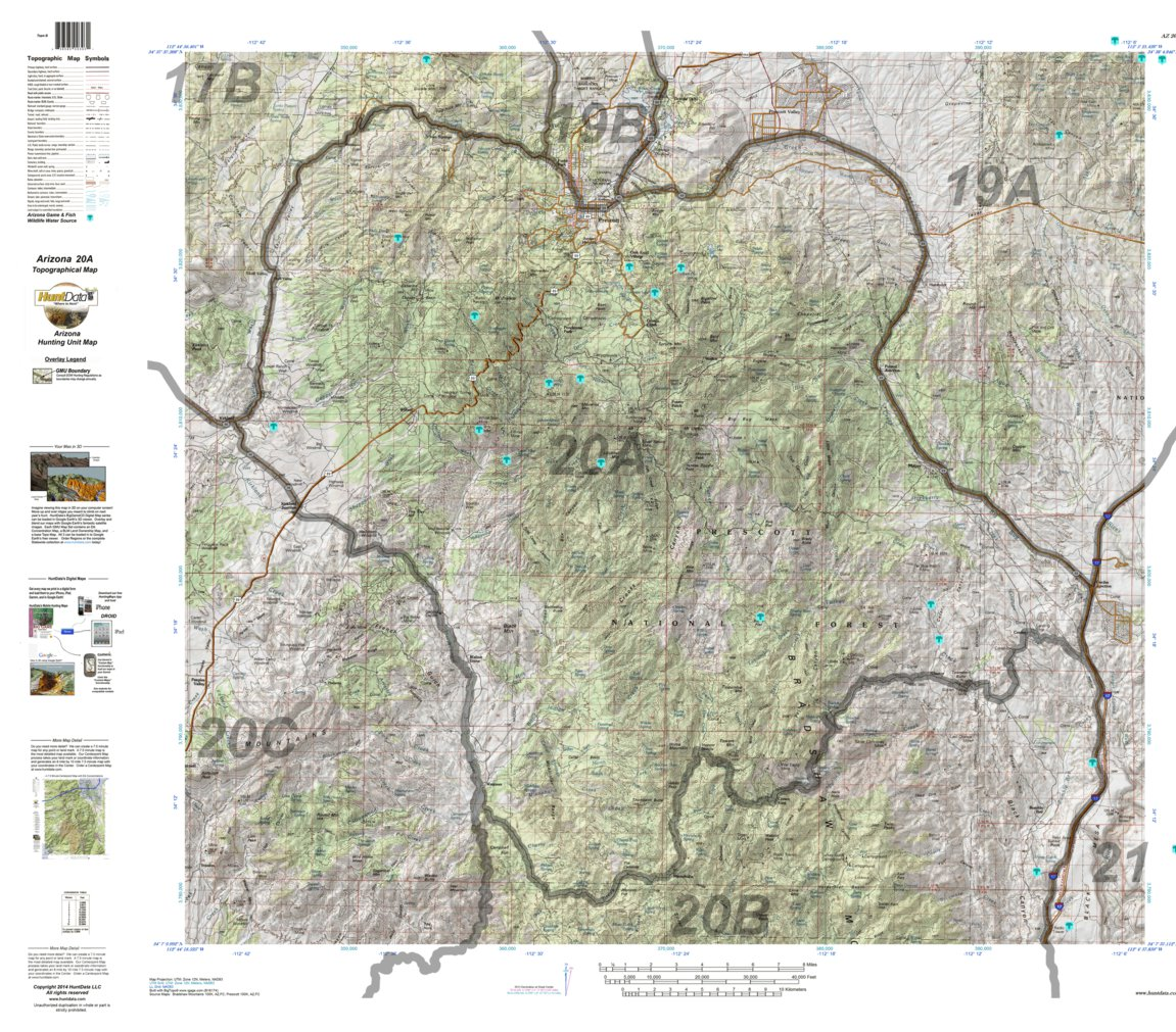 Avenza Maps - Arizona topographic map