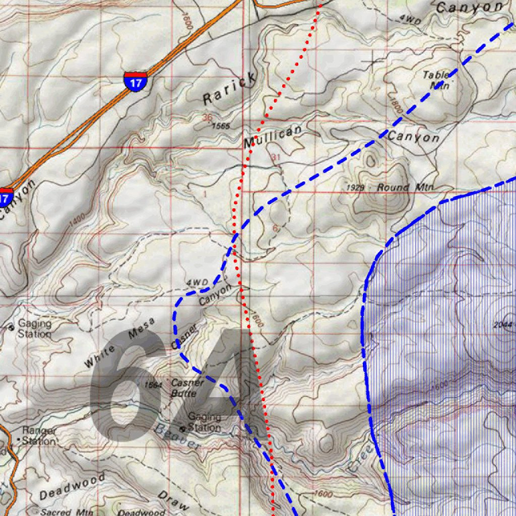 Unit 6a Arizona Map.Huntdata Arizona Elk Hunt Unit 6a Game Concentration Map Huntdata