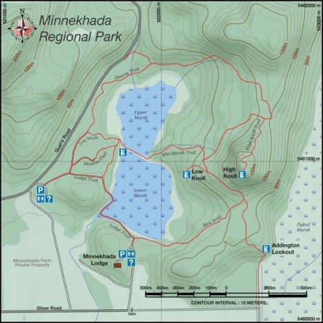 Minnekhada Regional Park BC Canada Canadian Map Makers Avenza Maps