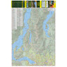 Tri-Cities Hiking and Biking Map (West Sheet)