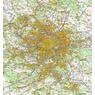 Paris et Alentours (1:100 000)