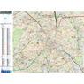 Paris Bus Map