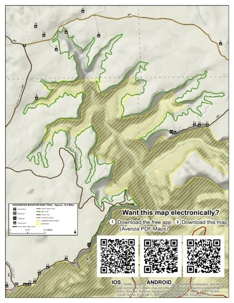 Good Water Mountain Bike Trail, Emery County, Utah