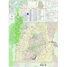 Non-Motorized Trails Map, Emery County, Utah