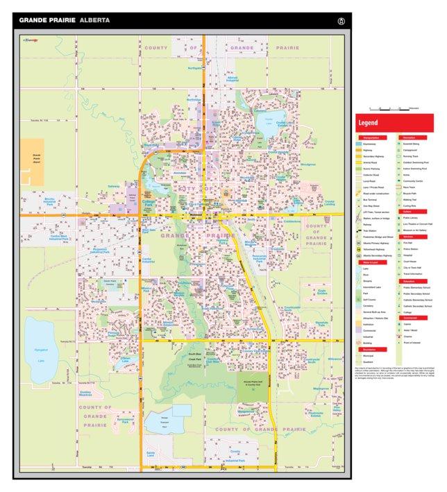 Grande Prairie AB Mapmobility Corp Avenza Maps