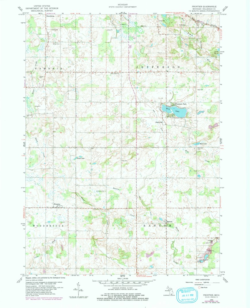FRONTIER, MI HISTORICAL MAP GEOPDF 7.5X7.5 GRID 24000-SCALE ... on boundary map, freedom map, allegiant map, old west map, mercer map, supreme map, ata map, sun country map, empire map, at&t map, lakota map, pathfinder map, pierce map, dateline map, union map, dickinson map, air canada map, erie map, asiana map, quest map,