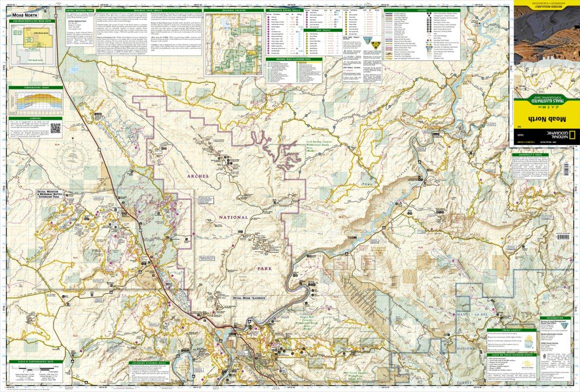 Moab [Map Pack Bundle] - National Geographic - Avenza Maps