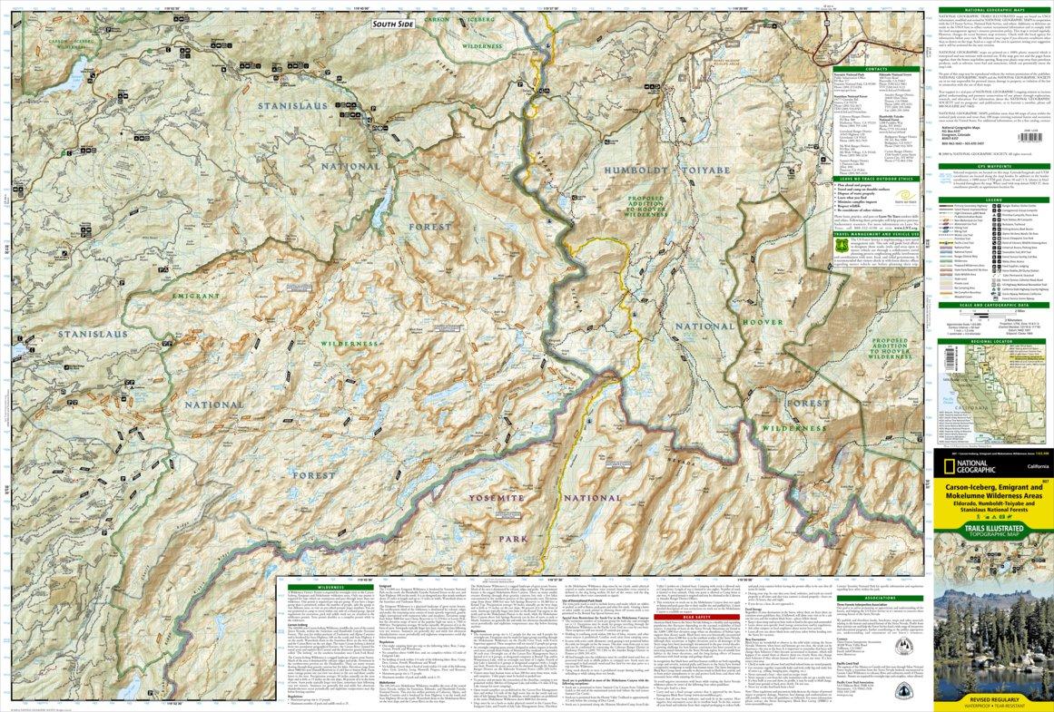 807 :: Carson-Iceberg, Emigrant, and Mokelumne Wilderness Areas ...