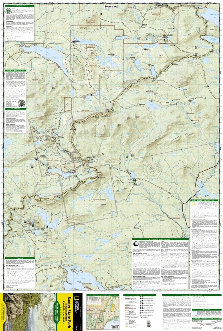 754 :: Baxter State Park [Mount Katahdin, Katahdin Iron Works ...