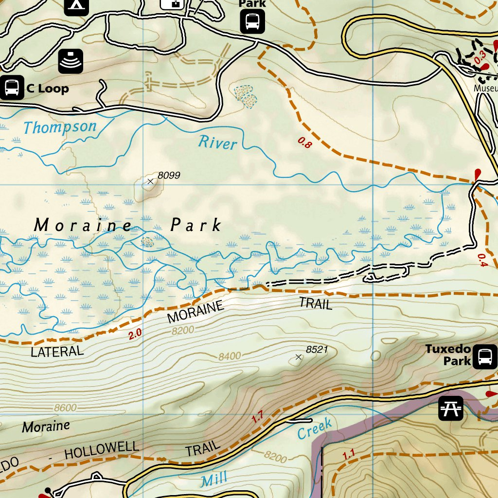 301 :: Longs Peak: Rocky Mountain National Park [Bear Lake, Wild ...