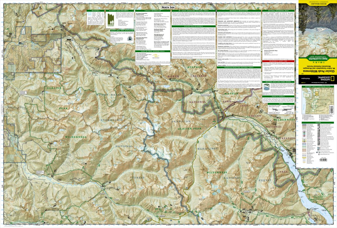 827 :: Glacier Peak Wilderness [Mt. Baker-Snoqualmie and Okanogan ...