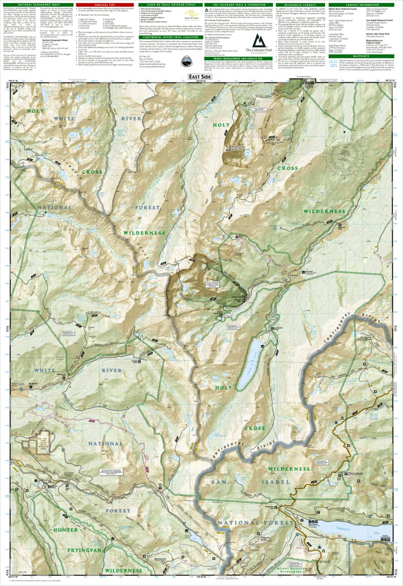 126 :: Holy Cross, Ruedi Reservoir - National Geographic - Avenza Maps