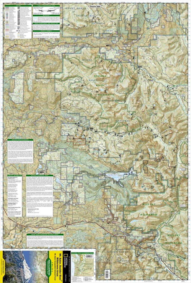 826 :: Mount Baker and Boulder River Wilderness Areas [Mt. Baker ...