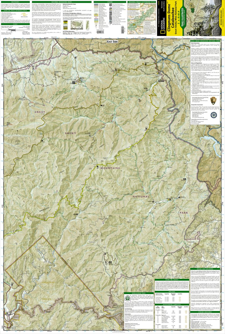 Great Smoky Mountains National Park [Map Pack Bundle] - National ...