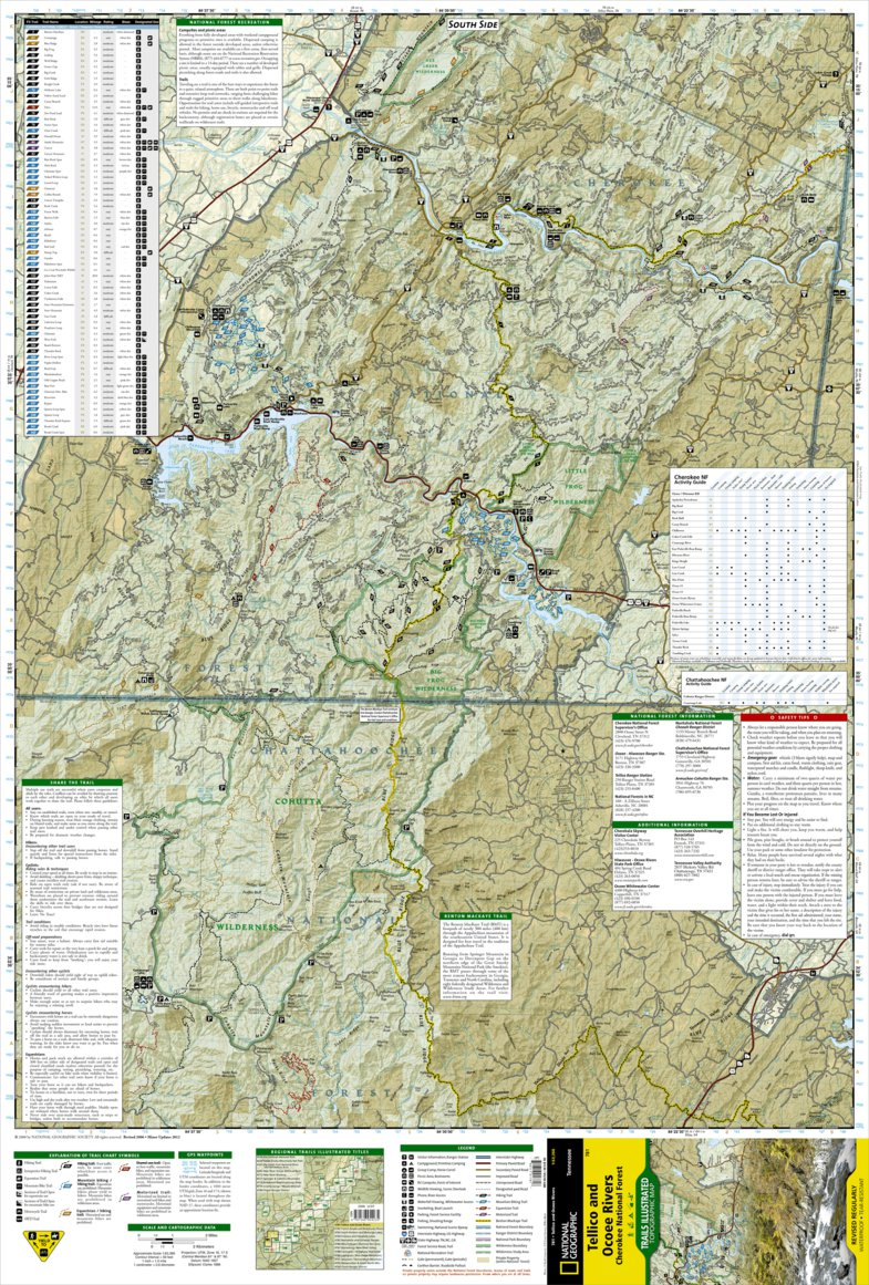 781 :: Tellico and Ocoee Rivers [Cherokee National Forest ...