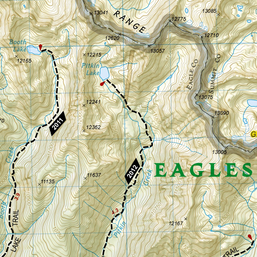 Collegiate Peaks, Eagles Nest, and Holy Cross Wilderness Areas GMU ...