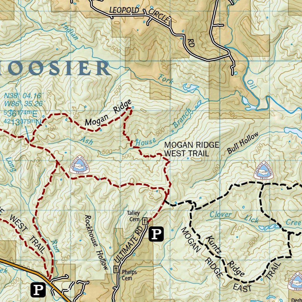 Hoosier National Forest Map 770 :: Hoosier National Forest   National Geographic   Avenza Maps