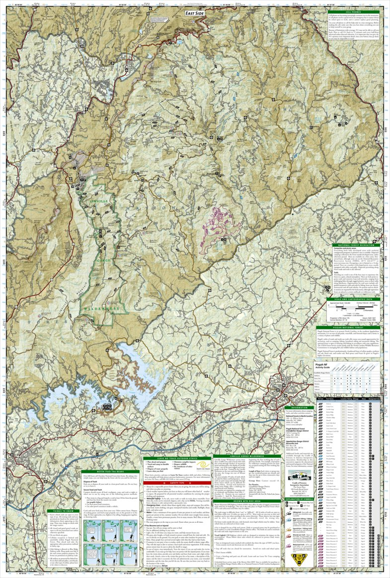 Best Running Trails in Pisgah National Forest | AllTrails |Pisgah National Forest Map