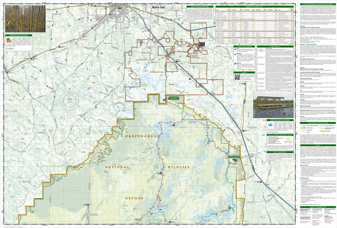 Okefenokee Fire Map.795 Okefenokee National Wildlife Refuge National Geographic