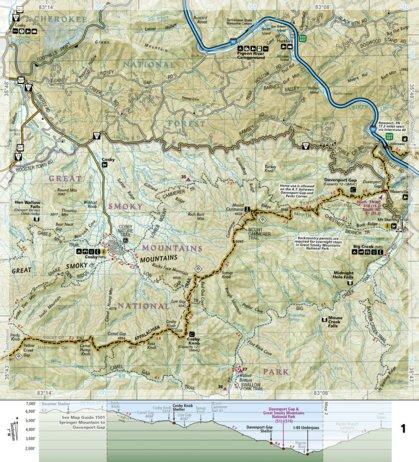 1502 :: Appalachian Trail, Davenport Gap to Damascus [North Carolina ...