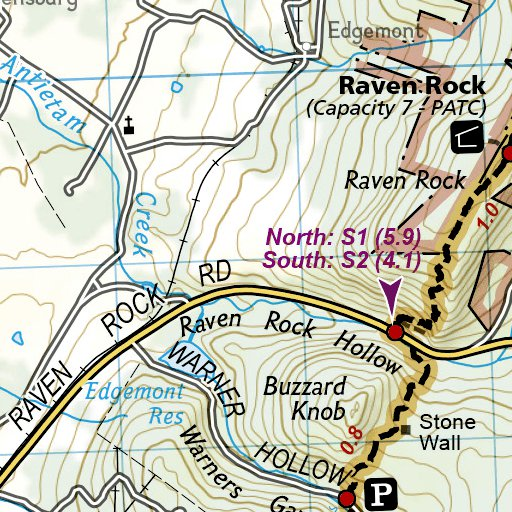 1505 Appalachian Trail Calf Mountain to Raven Rock [Virginia