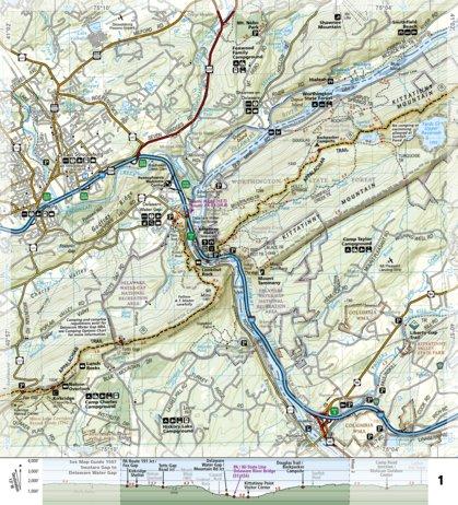1508 Appalachian Trail Delaware Water Gap To Schaghticoke