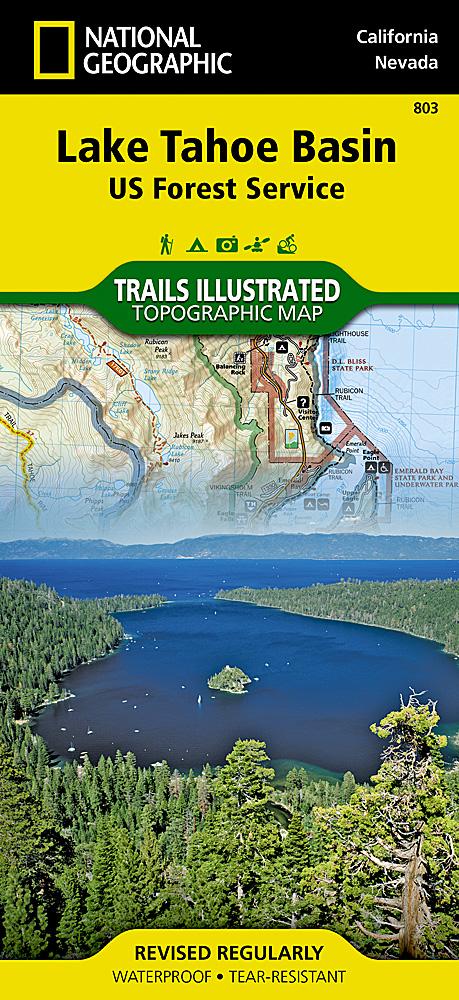 Avenza Maps - Lake tahoe us map