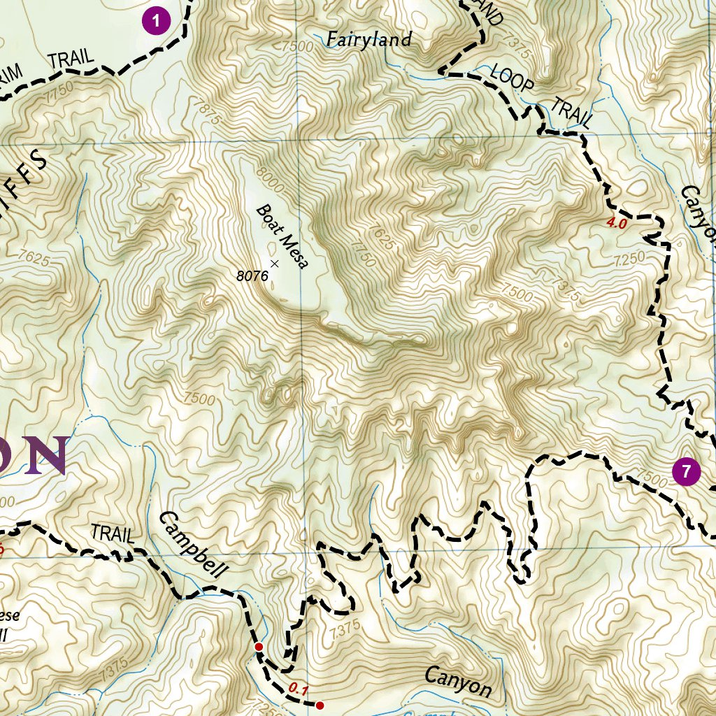 219 :: Bryce Canyon National Park - National Geographic - Avenza Maps