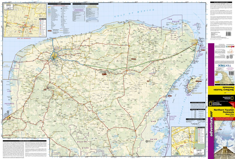 Yucatan Peninsula [Mexico] - National Geographic - Avenza Maps on london road map, bahia road map, quintana roo road map, england road map, somerset road map, portland road map, scotland road map, india road map, brazil road map, playa del carmen road map, sao paulo road map, chihuahua road map, ireland road map, italy road map, merida map, colombia road map, mexico road map, south australia road map, yukon road map, norfolk road map,
