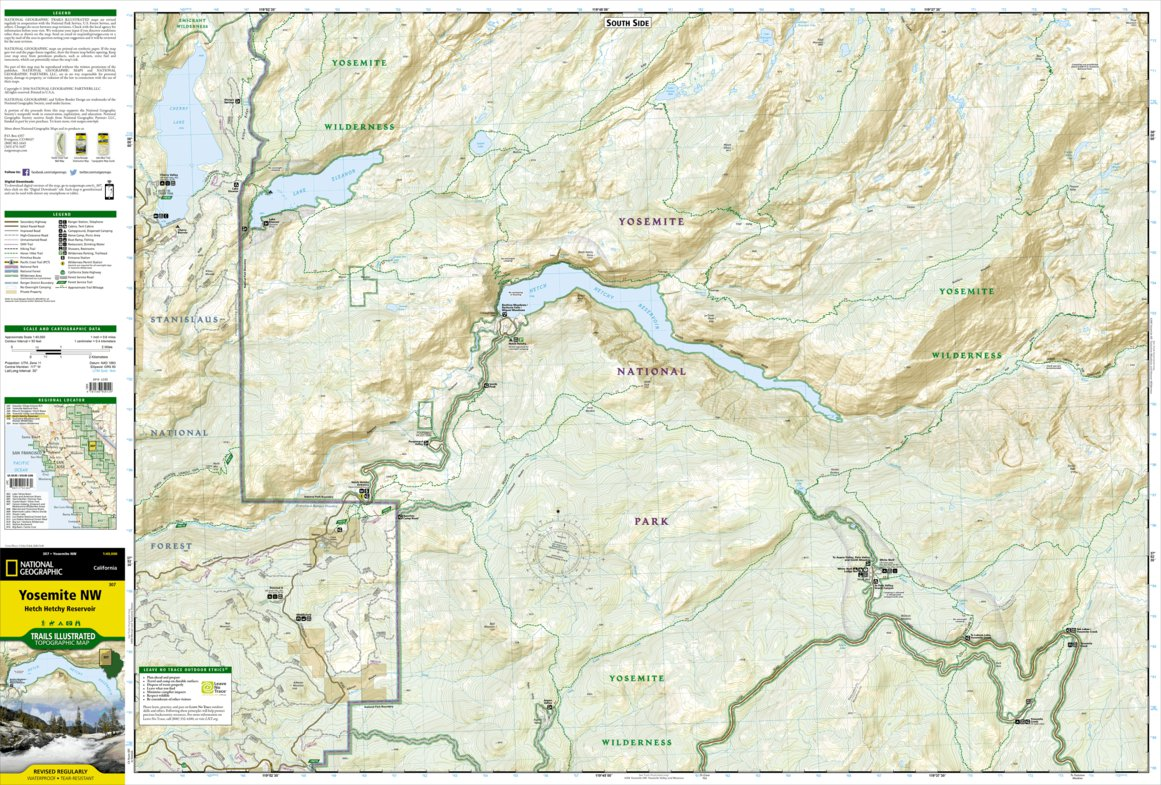 Yosemite National Park [Map Pack Bundle] - National Geographic ... on san diego map pdf, stanford university map pdf, central park map pdf, lake arrowhead map pdf, san francisco map pdf, los angeles map pdf, united states map pdf,