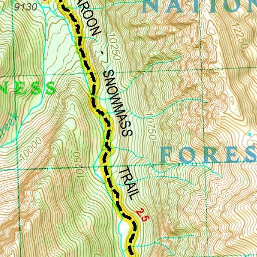 Colorado Ers South San Juan Elk And Sangre De Cristo - 14ers map us