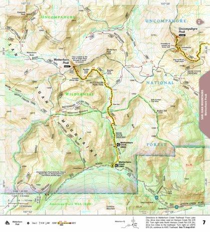 1303 :: Colorado 14ers South [San Juan, Elk, and Sangre de Cristo ...