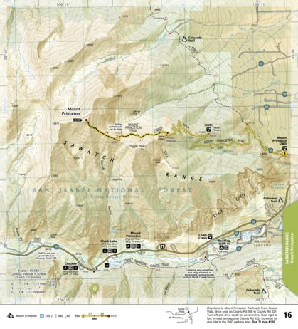 1302 :: Colorado 14ers North [Sawatch, Mosquito, and Front Ranges ...