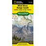 727 :: Wind River Range South Map [Lander, Cirque of the Towers]