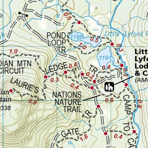 1513 :: Appalachian Trail, Pleasant Pond to Katahdin [Maine ...