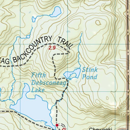1513 :: Appalachian Trail, Pleasant Pond to Katahdin [Maine ...