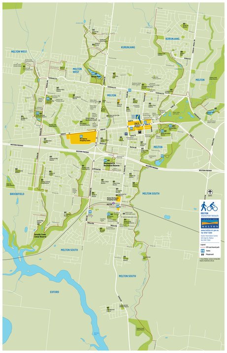 Melton Shared Path Network Map Visualvoice Avenza Maps