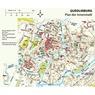 Harz Reiseführer Plan Quedlinburg