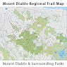 Mount Diablo Regional Trail Map
